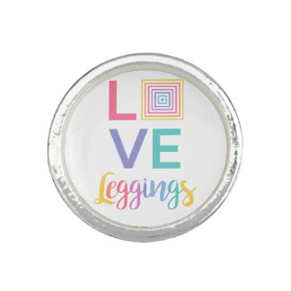 Love Leggings- Jewelry for fashion consultants Rings