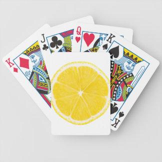 LOVE LEMON Bicycle Playing Cards B
