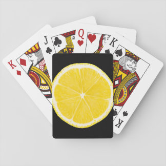 LOVE LEMON Playing Cards A