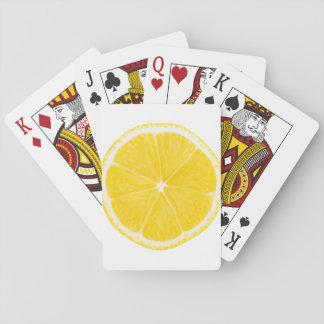 LOVE LEMON Playing Cards B