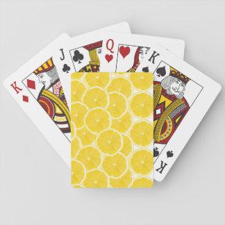 LOVE LEMON Playing Cards C