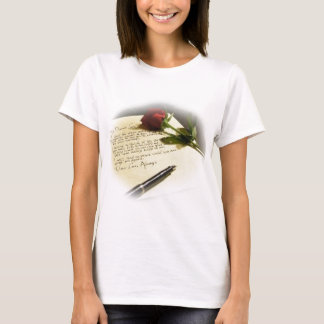 love letter - fully customizable with your text T-Shirt