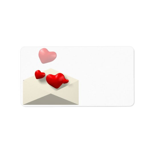 Love Letter Label
