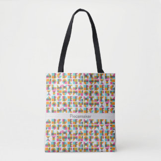 Love Letters Alphabet Tote Bag