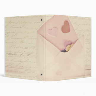 Love letters vinyl binders