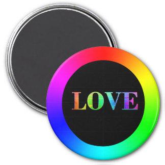 Love , LGBT Rainbow Magnet