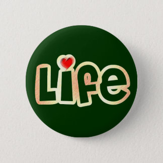 Love Life 2 Inch Round Button
