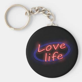 Love life. keychain