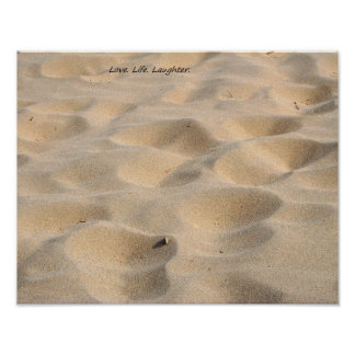 Love. Life. Laughter. Print