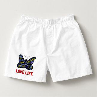 """""""Love Life"""" Men's Cotton Boxers"""