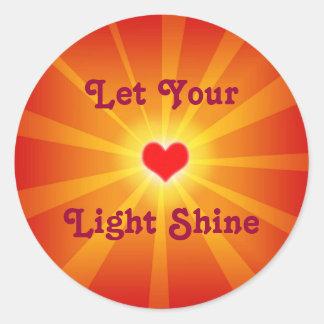 Love Light Shine Sticker