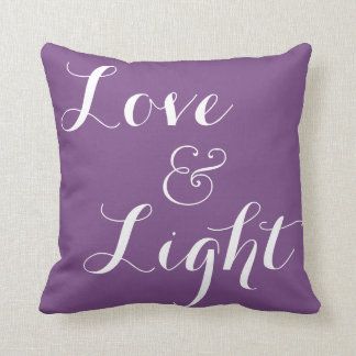 Love & Light Throw Pillow