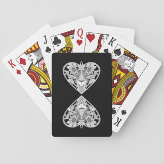 Love Lioness Locket playing cards