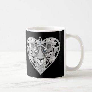 Love Lioness Locket (silver) Coffee Mug