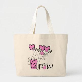 Love Live Laugh Grow Jumbo Tote Bag