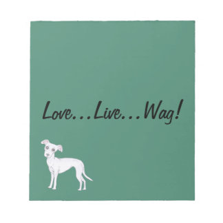 Love, Live, Wag! Notepad