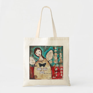 Love Lives Here: Art by Ulyth Tote Bag