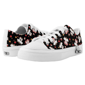 Love Llama Madness Low-Top Sneakers