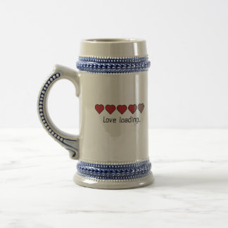 Love loading hearts Zzl2s Beer Stein