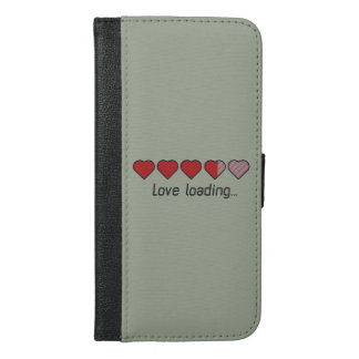 Love loading hearts Zzl2s iPhone 6/6s Plus Wallet Case