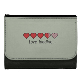 Love loading hearts Zzl2s Leather Wallet For Women