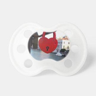 love lock in venice baby pacifiers