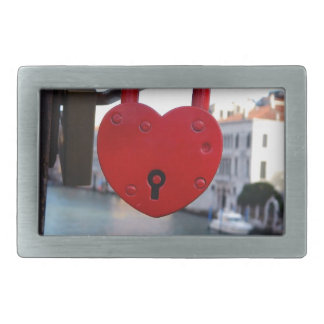 love lock in venice belt buckle