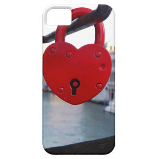 love lock in venice iPhone 5 case