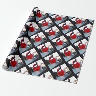 love lock in venice wrapping paper
