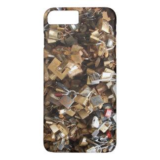 Love locked - padlocks, lovelocks iPhone 7 plus case
