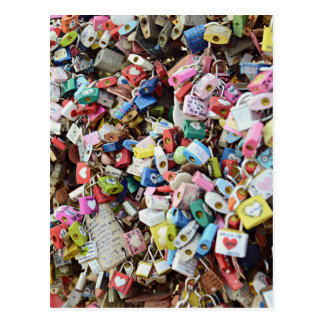 Love Locks Postcard
