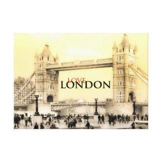 Love London Canvas
