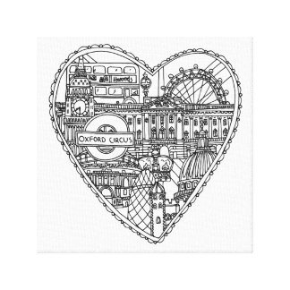 Love London Canvas