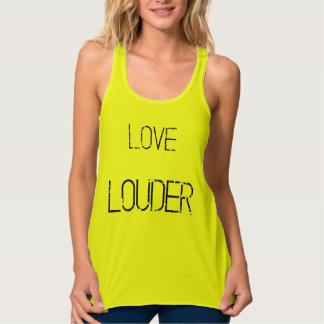 Love Louder grunge flowy tank