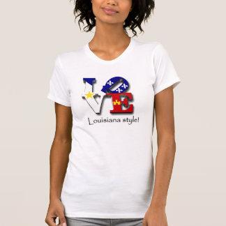 Love Louisiana Style T-Shirt
