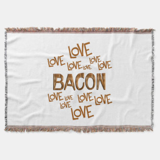 Love Love Bacon Throw