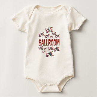 Love Love Ballroom Baby Bodysuit