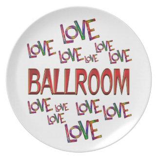 Love Love Ballroom Plate
