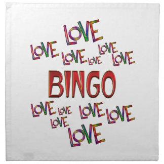 Love Love Bingo Napkin