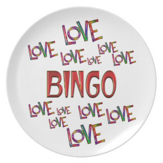 Love Love Bingo Plate