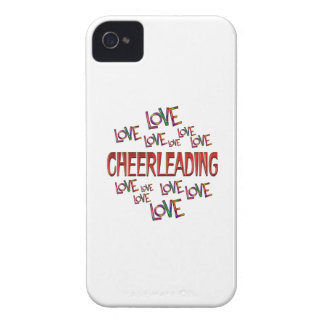 Love Love Cheerleading iPhone 4 Case-Mate Cases