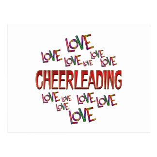 Love Love Cheerleading Postcard