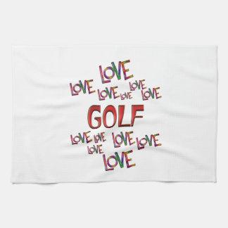 Love Love Golf Kitchen Towel