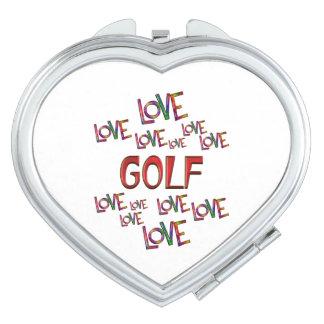 Love Love Golf Vanity Mirrors
