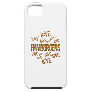 Love Love Hamburgers Case For The iPhone 5