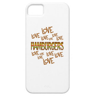Love Love Hamburgers iPhone 5 Cases