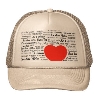 Love Love Mesh Hats