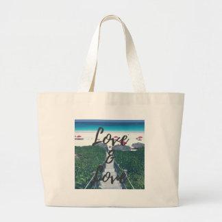 Love & Love Jumbo Tote