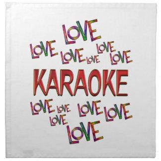 Love Love Karaoke Cloth Napkins