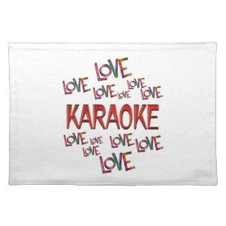Love Love Karaoke Place Mats